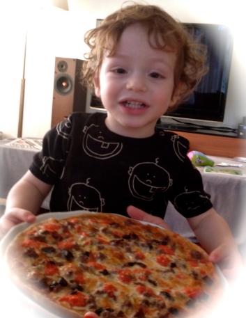 Batu tam buğday unlu ev yapımı 'A la Turca' pizzasıyla
